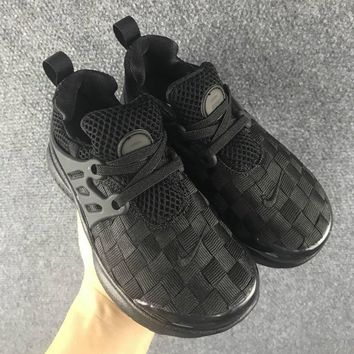 NIKE Girls Boys Children Baby Toddler Kids Child Weave Breathable Sneakers Sport Shoes-2