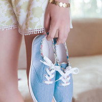 Arbiee Chambray Sneaker