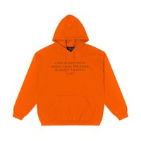 Lit Pullover in Orange
