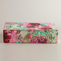 Floral Rectangular Cassandra Box