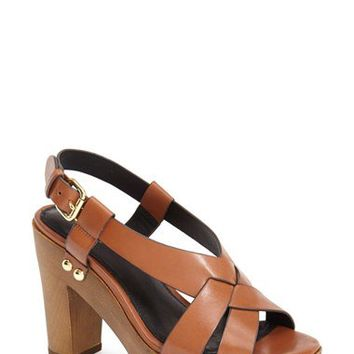 COACH 'Adessa' Leather Sandal (Women) | Nordstrom