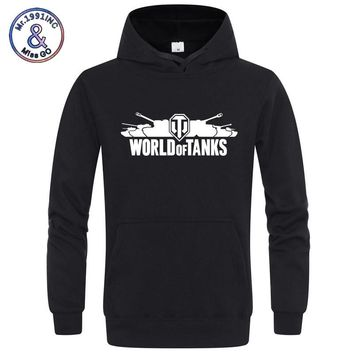 World of Tanks Hoodies Sweatshirt Men/Women Hoodie Fashion Hooded Sweatshirts Long sleeve Casual Hoody Winter Fleece Pullover