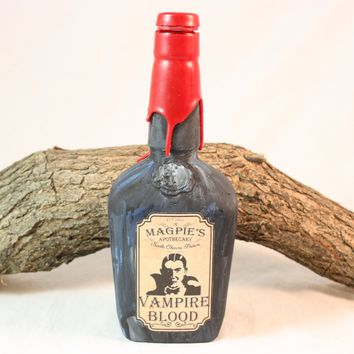 Potion Bottle, Halloween Decoration, Fall Decorations, Spooky Halloween Decoration