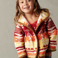 Kid's Coat, Native American Indian Pattern Wool Kids & Baby Coats