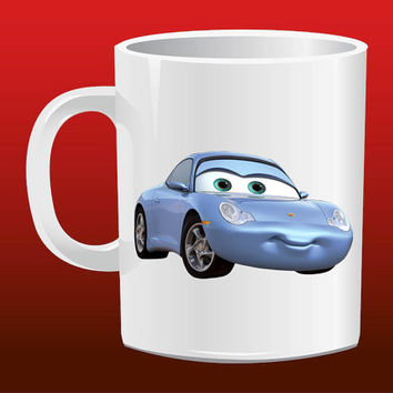 Lightning McQueen Sally for Mug Design