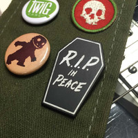 RIP in Peace - Pin