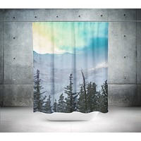 Rock Candy Mountain Shower Curtain