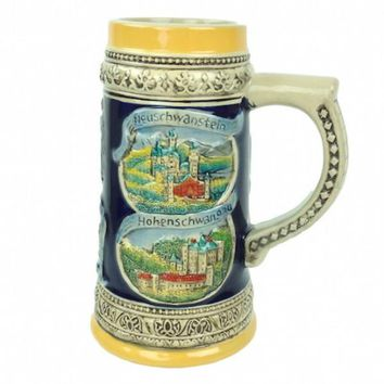 German Gift Beer Mug Landmarks