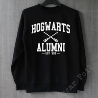 Hogwarts Alumni Shirt Harry Potter Sweatshirt Hoodie Sweater Unisex - Size S M L XL