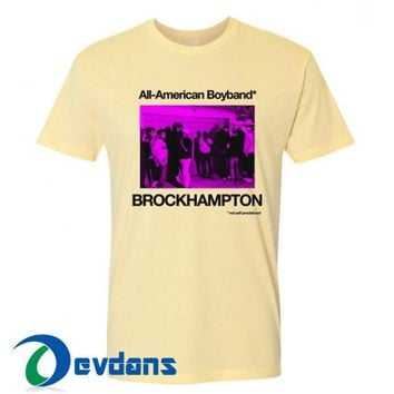 All American Boyband T Shirt Women And Men Size S To 3XL
