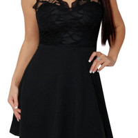 Night Magic (Black)-Great Glam is the web's best online shop for trendy club styles, fashionable party dresses and dress wear, super hot clubbing clothing, stylish going out shirts, partying clothes, super cute and sexy club fashions, halter and tube tops