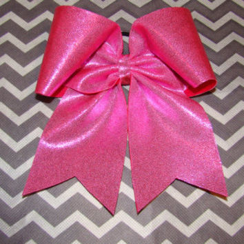 Bubblegum Pink Mystic Cheer Bow