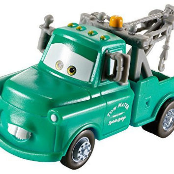 Disney/Pixar Cars, Color Changers, Brand New Mater Vehicle [Teal to Green] 1:55 Scale (Discontinued by manufacturer)