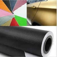 127X30cm 3D Car Film Carbon Fiber Vinyl Film Carbon Fibre Car Sticker High Quality Car Styling = 1668785668