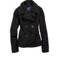 Clearance - AE Wool Peacoat - American Eagle Outfitters