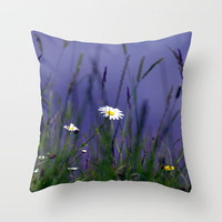 Hiding in the long grass Throw Pillow by Brian Raggatt    | Society6