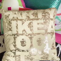 Aeropostale  Party Throw Pillow - Yellow, One