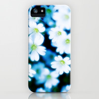 MEADOW DAISIES IN THE NIGHT iPhone & iPod Case by Ylenia Pizzetti