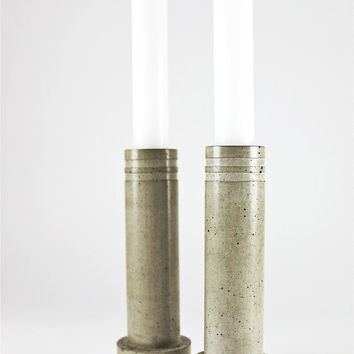 Concrete Candlestick Holder