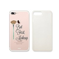 """""""But First Make Up"""" Transparent Plastic Phone Case Phone Cover for iphone 7 _ SUPERTRAMPshop (iphone 7)"""