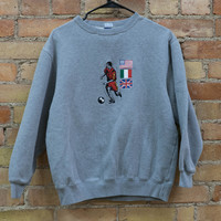 Soccer Flags Pullover