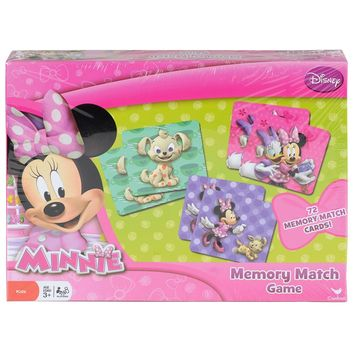 Disney Junior Minnie Mouse Memory Match Game, 72 Cards