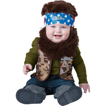 Infant Boy's Costume: Duck Dynasty Baby Willie | 18M-24M