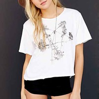 Tee Library The Stars Tee- White