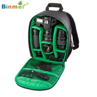 Hot-sale BINMER 3 Colors Camera Backpacks Gifts High Quality DSLR Bag for Cannon