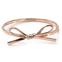 kate spade new york Skinny Mini Bow Bangle | Bloomingdale's