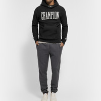 Todd Snyder - Champion Printed Fleece-Back Cotton Hoodie | MR PORTER