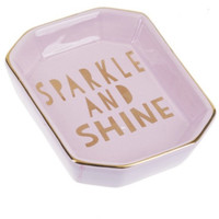 """Sparkle and Shine"" Decorative Tray"