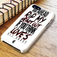 Go Ahead 5sos lyrics 5 Seconds Of Summer Star 5 sos Music   For iPhone 6 Plus Cases   Free Shipping   AH0638