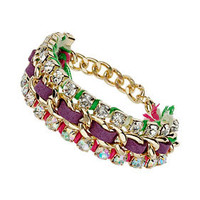 Rhinestone Chain Wrap Bracelet - New In This Week  - New In