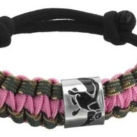 Duck Commander® Survival Bracelet - Pink/Camo | 