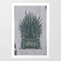 Games of Thrones Art Print by Nostromo