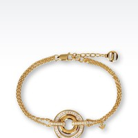 Emporio Armani Women Bracelet - BRACELET IN GOLD PLATED SILVER AND CZ STONES Emporio Armani Official Online Store