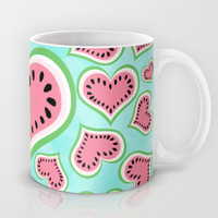 Watermelon Love... Mug by Lisa Argyropoulos | Society6