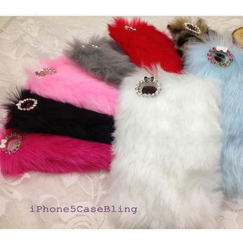 iphone 5 case, iphone 5s case, iPhone 4s case, luxury fur iPhone 4 case Warm Furry iPhone 5 case, iPod touch 4 case, ipod touch 5 case