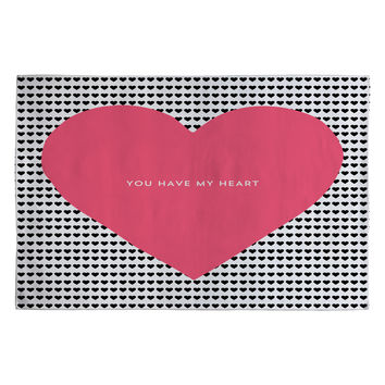 Allyson Johnson You Have My Heart Woven Rug