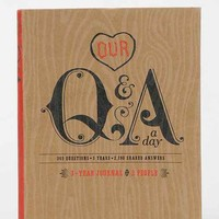 Our Q&A Day Journal- Assorted One
