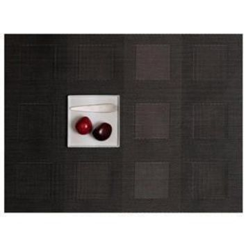 CHILEWICH Engineered Squares Placemats S/4 | Steel