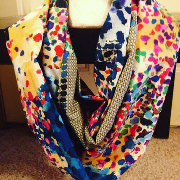 Handmade Spring Infinity Scarf-Easted Scarf