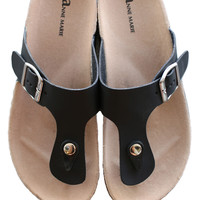 Summer Sandal - Black