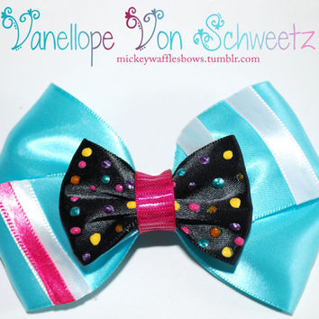Vanellope von Schweetz Hair Bow by MickeyWaffles on Etsy