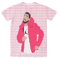 Dancing Drake 3D Sublimation Print T-shirt