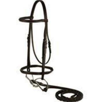Gatsby Leather Company - Plain Snaffle Bridle