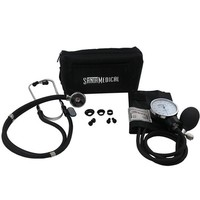 Santamedical Sphygmomanometer w/ Stethoscope Kit Black (SPR-210B)
