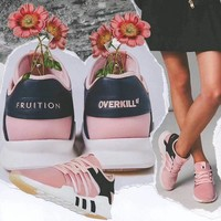 Overkill x Fruition x adidas EQT WMS Running Shoes CM7998-8003