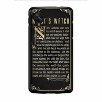 Game Of Thrones Nights Watch Nexus 5 Case